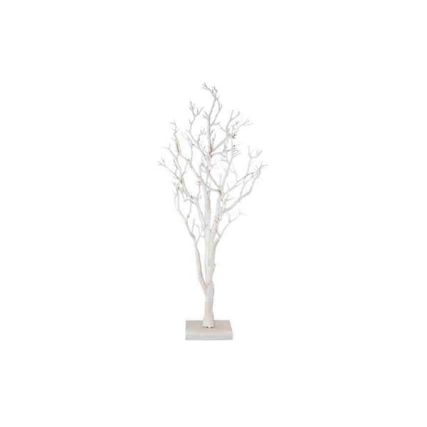 Manzanita trees white