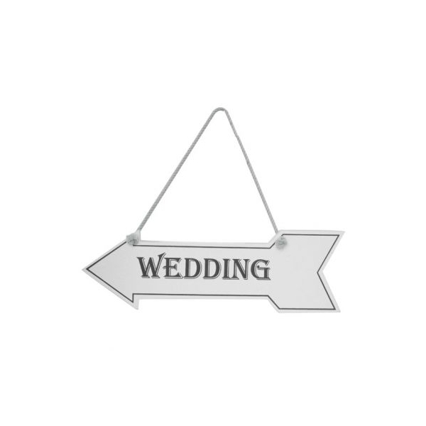 White wedding arrow GI1007