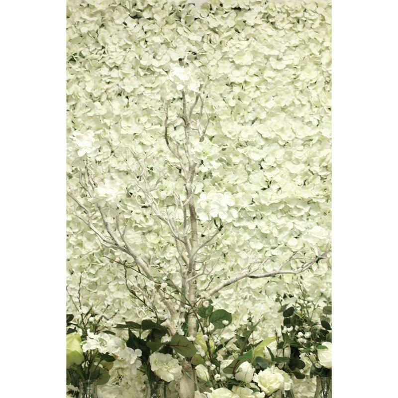 flower wall ivory
