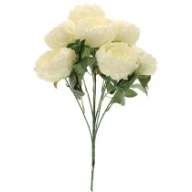 Peony bunch SF0347c cream