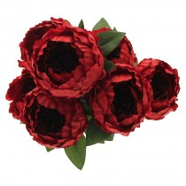 Peony bunch SF0347R RED