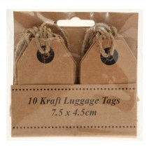 Luggage tags Kraft