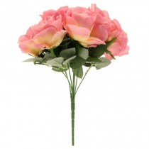 pink rose bunch SF0350p