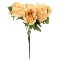 peach rose bunch SF0350ph